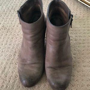 BP booties- fair amount of wear